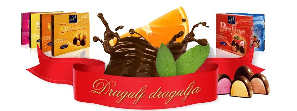Dragulj čokoladne praline